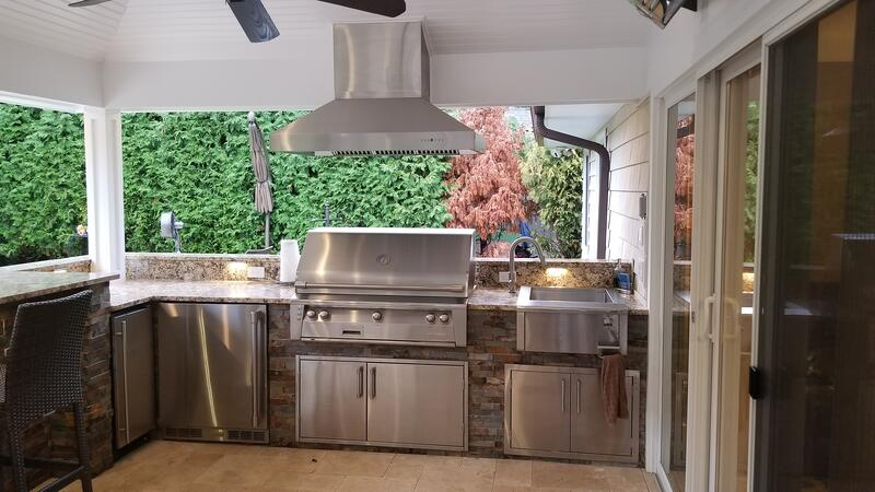 alfresco outdoor kitchen