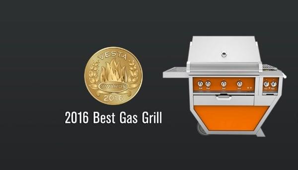 HESTAN best gas grill award
