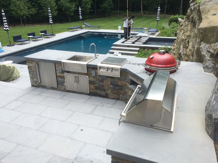 Armonk Outdoor Kitchen - Rofgrills.com