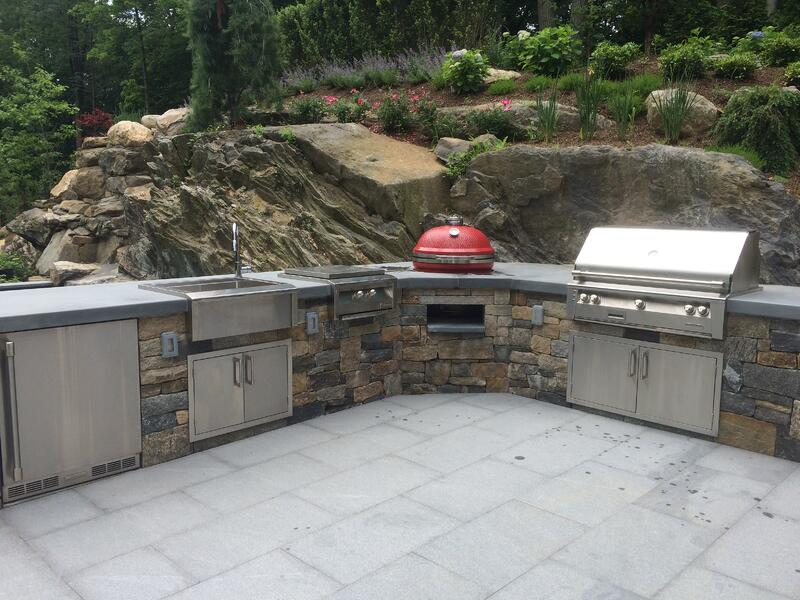 Outdoor kitchens Westchester County