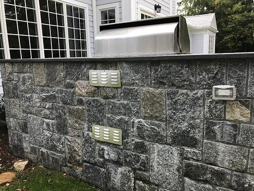 Outdoor Kitchen Island Vents